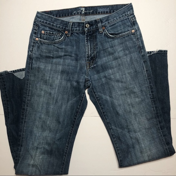 7 For All Mankind Denim - 7 For All Mankind bootcut jeans